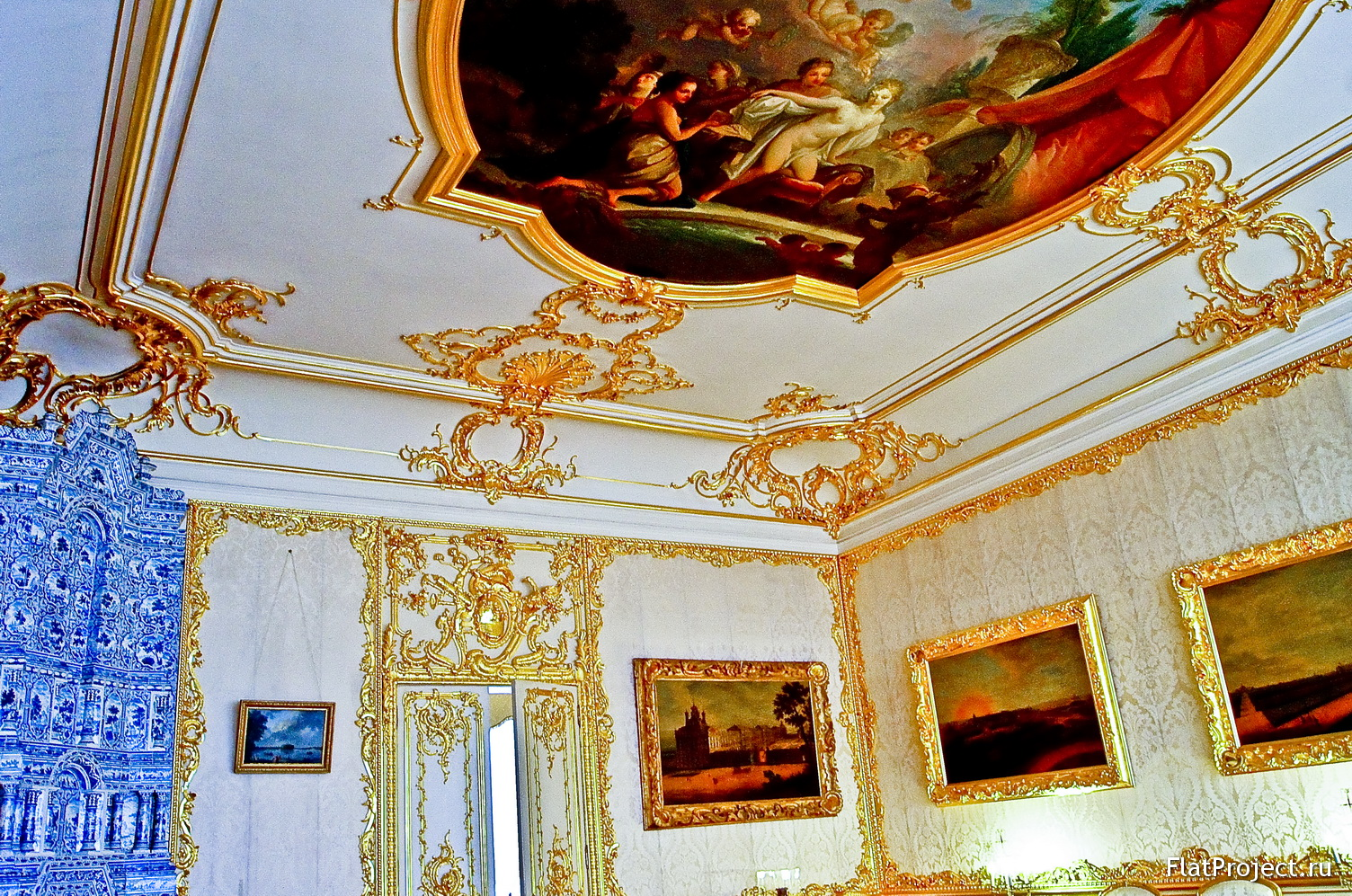The Catherine Palace interiors – photo 121