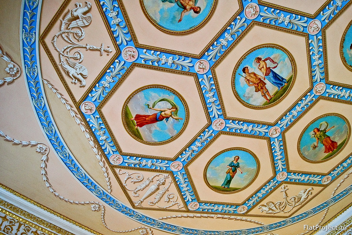 The Catherine Palace interiors – photo 62