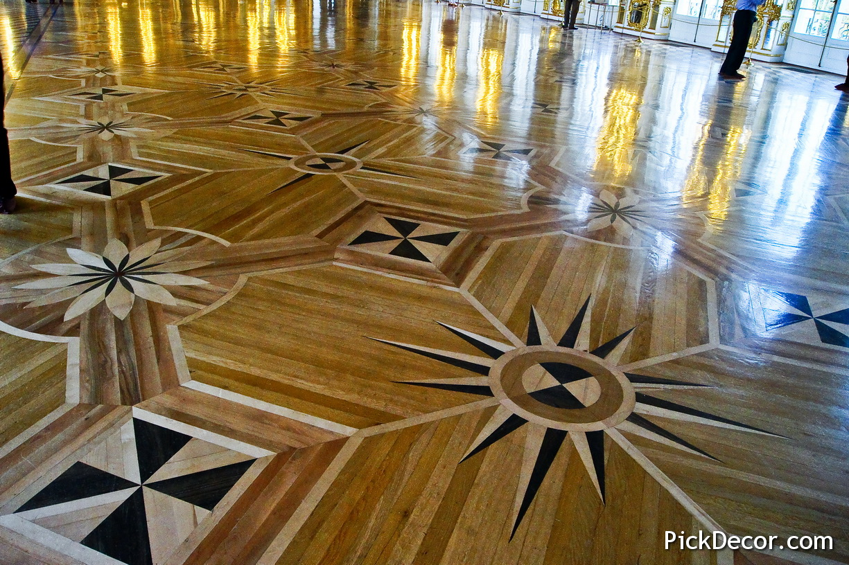 The Catherine Palace floor designs – photo 37