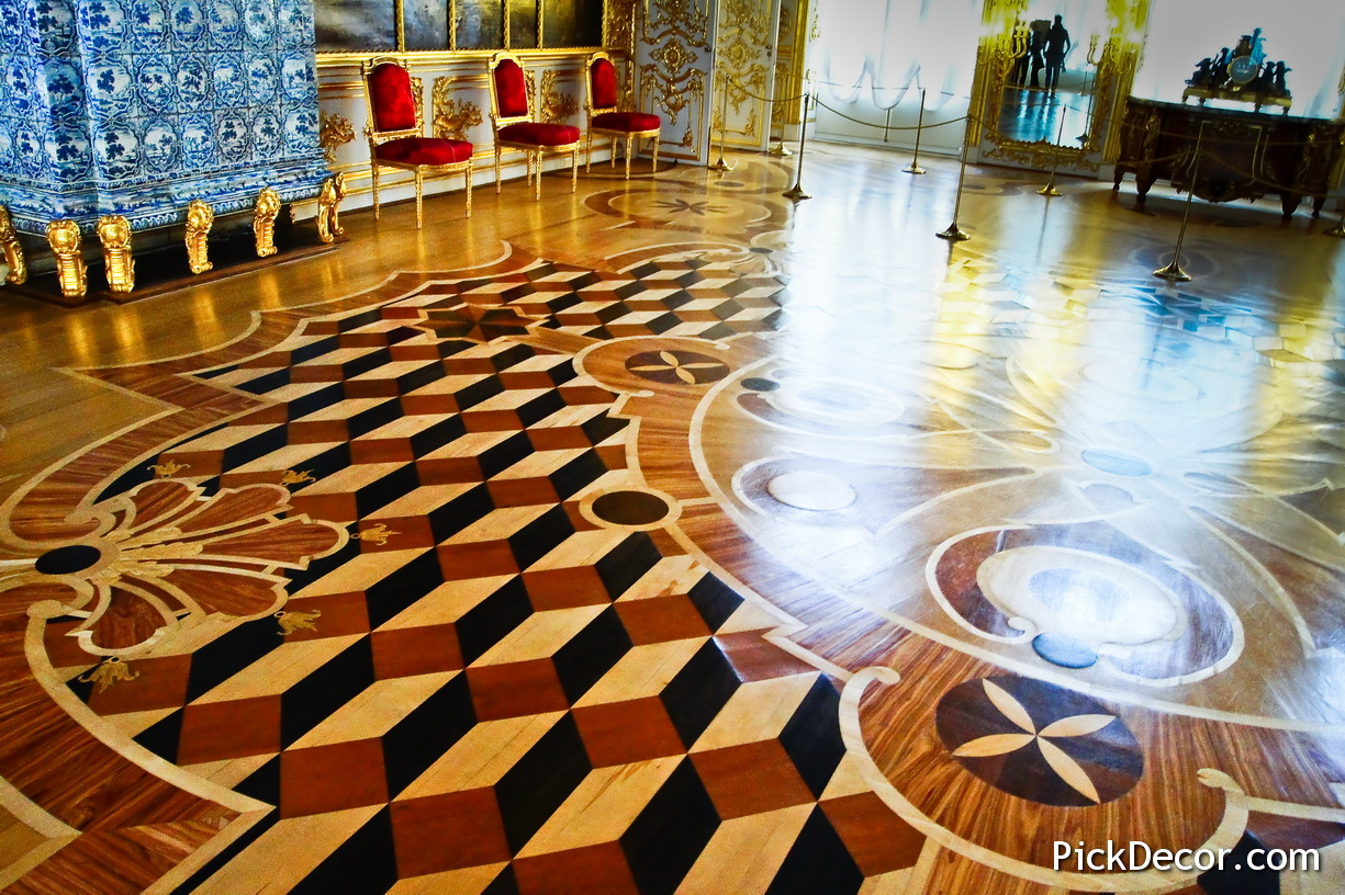 The Catherine Palace floor designs – photo 10