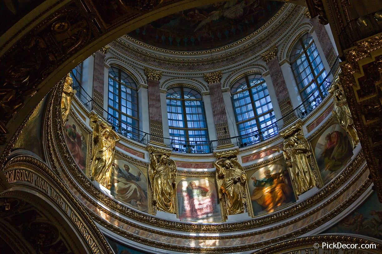 The Saint Isaac's Cathedral interiors – photo 45