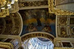 Потолки и декор Исаакиевского собора — фото 99