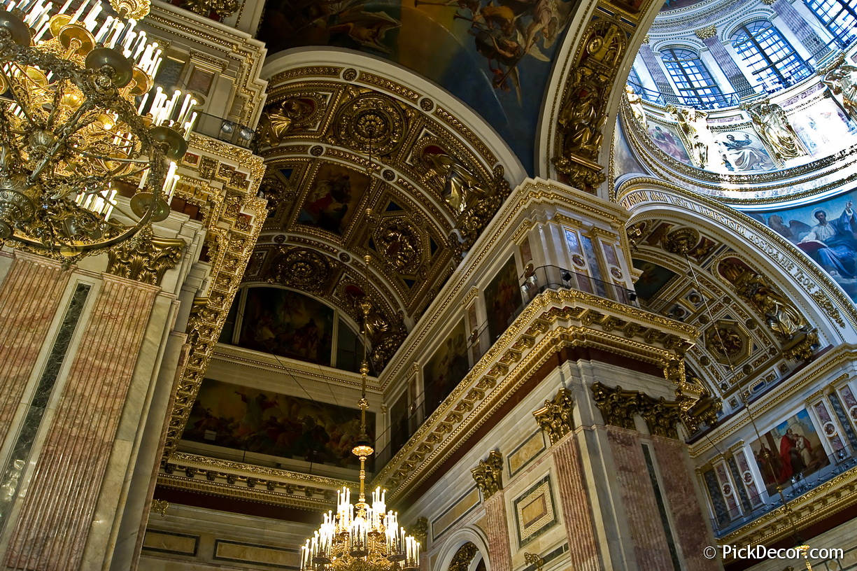 The Saint Isaac's Cathedral interiors – photo 6