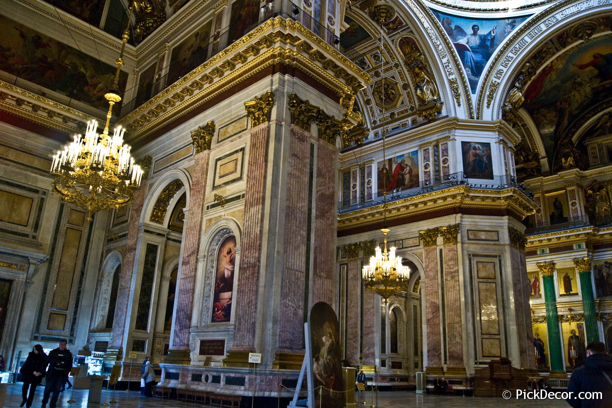 The Saint Isaac's Cathedral interiors – photo 31