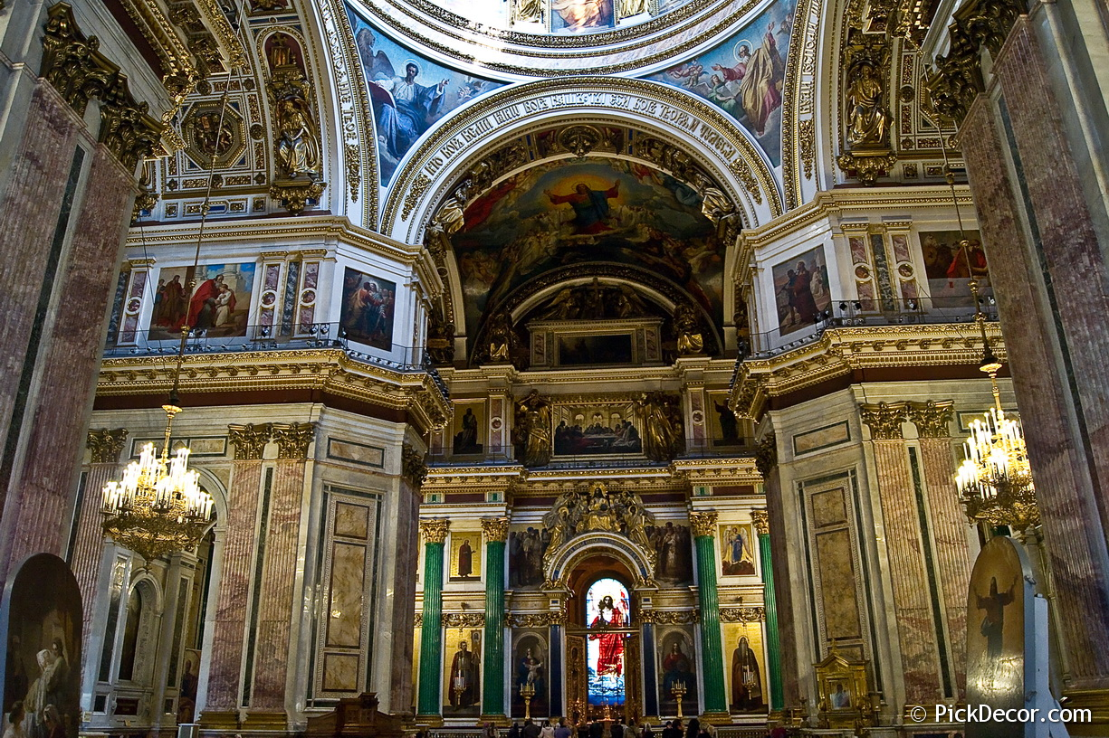 The Saint Isaac's Cathedral interiors – photo 28