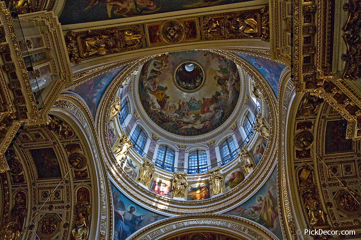 The Saint Isaac's Cathedral interiors – photo 3
