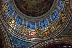 Потолки и декор Исаакиевского собора — фото 44