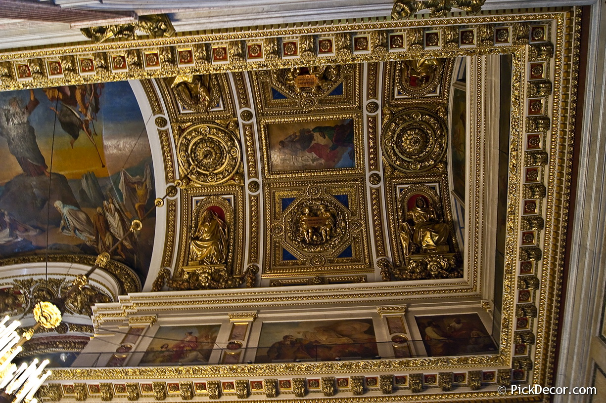 The Saint Isaac's Cathedral interiors – photo 99