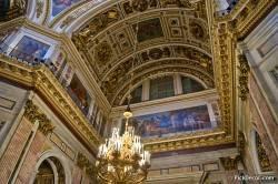 Потолки и декор Исаакиевского собора — фото 17