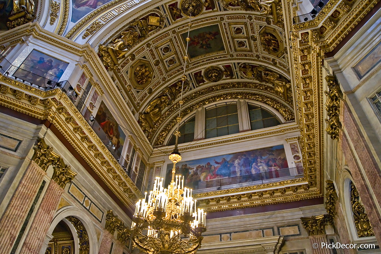 The Saint Isaac's Cathedral interiors – photo 84