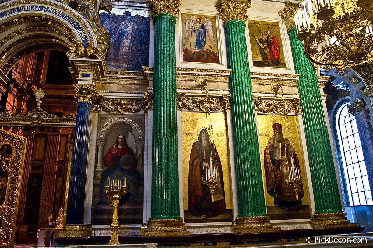 The Saint Isaac's Cathedral interiors – photo 100
