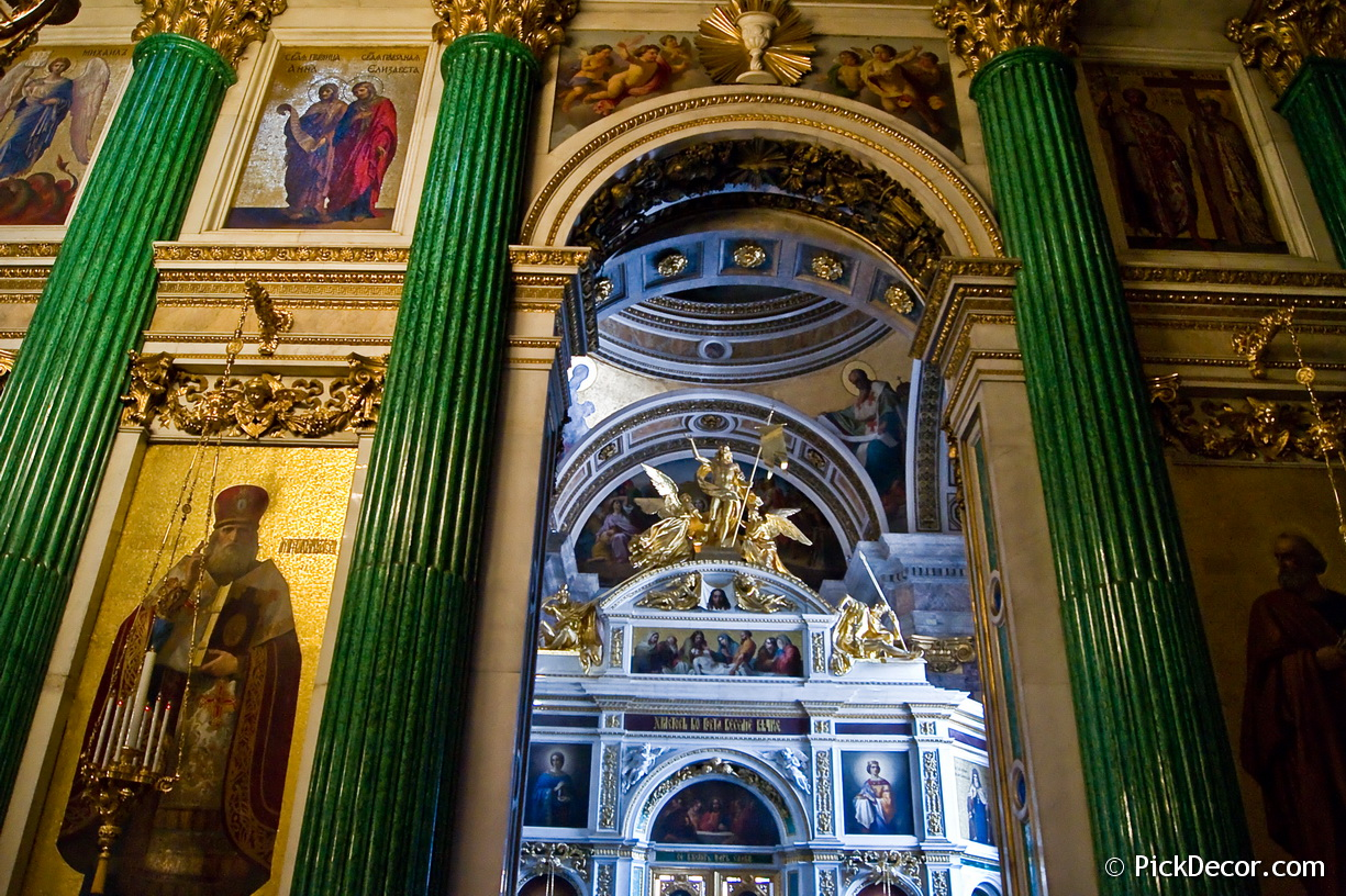 The Saint Isaac's Cathedral interiors – photo 98