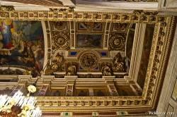 Потолки и декор Исаакиевского собора — фото 7