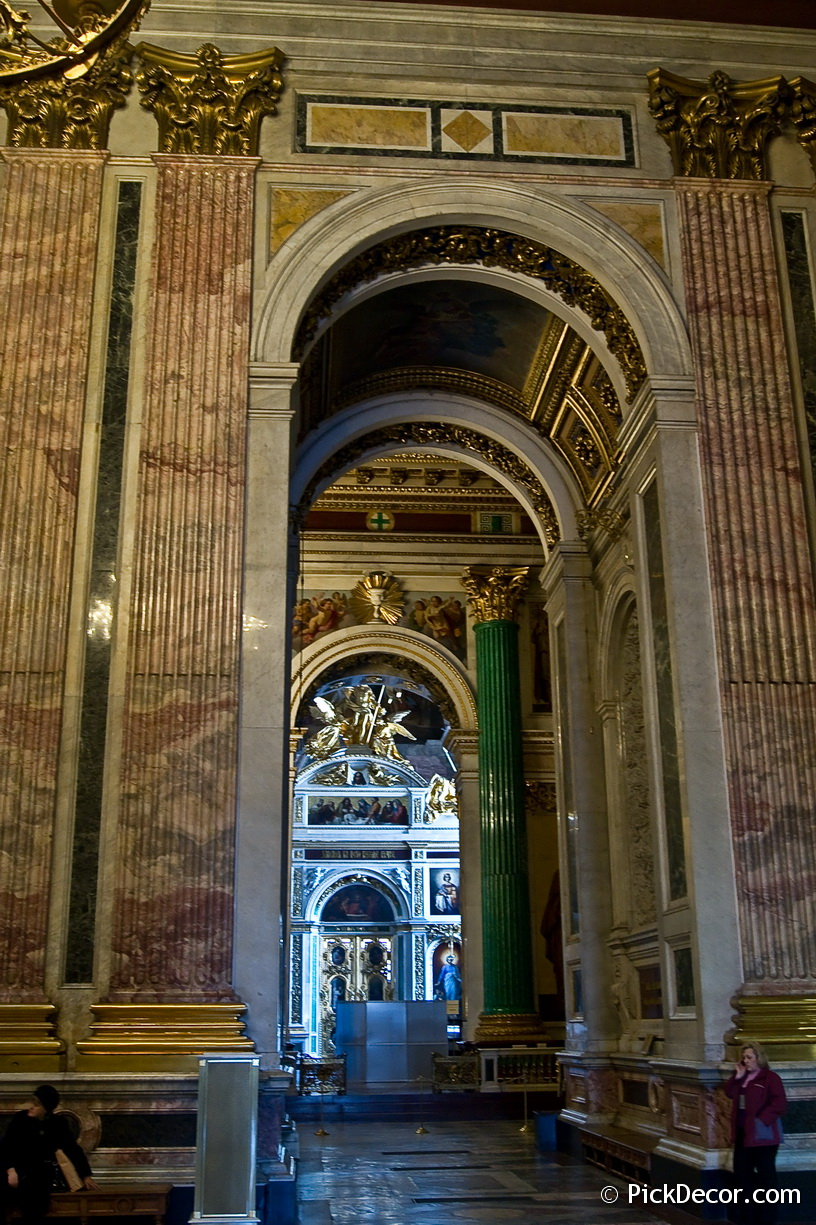 The Saint Isaac's Cathedral interiors – photo 37