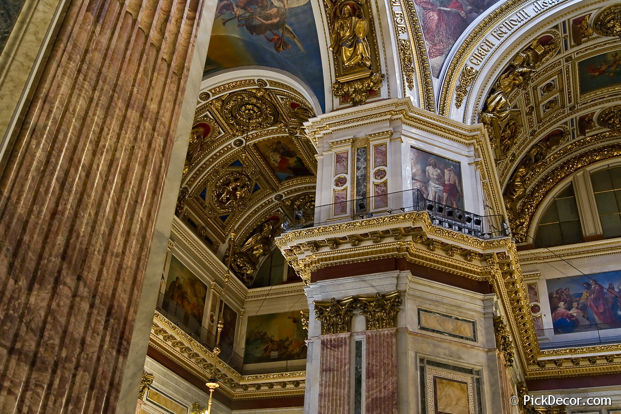 The Saint Isaac's Cathedral interiors – photo 17