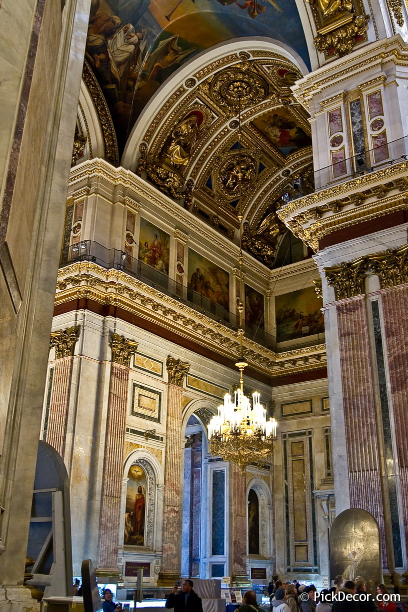 The Saint Isaac's Cathedral interiors – photo 74