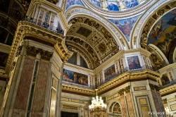 Потолки и декор Исаакиевского собора — фото 90