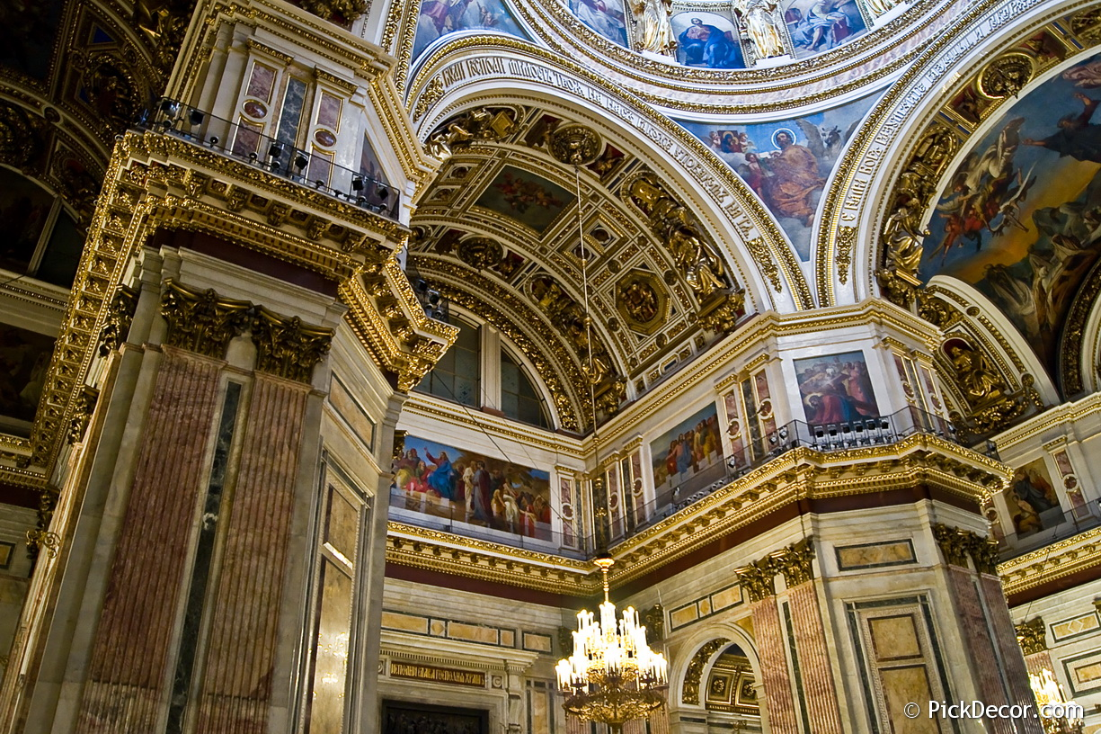 The Saint Isaac's Cathedral interiors – photo 11