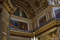 Потолки и декор Исаакиевского собора — фото 33