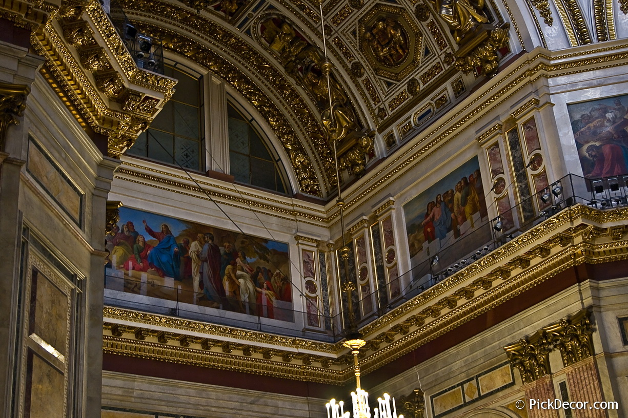 The Saint Isaac's Cathedral interiors – photo 68