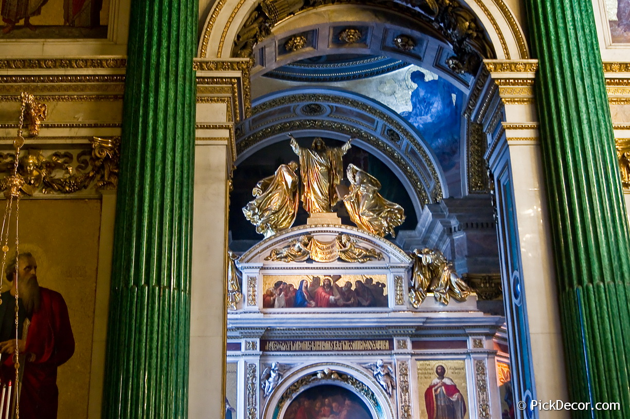 The Saint Isaac's Cathedral interiors – photo 87
