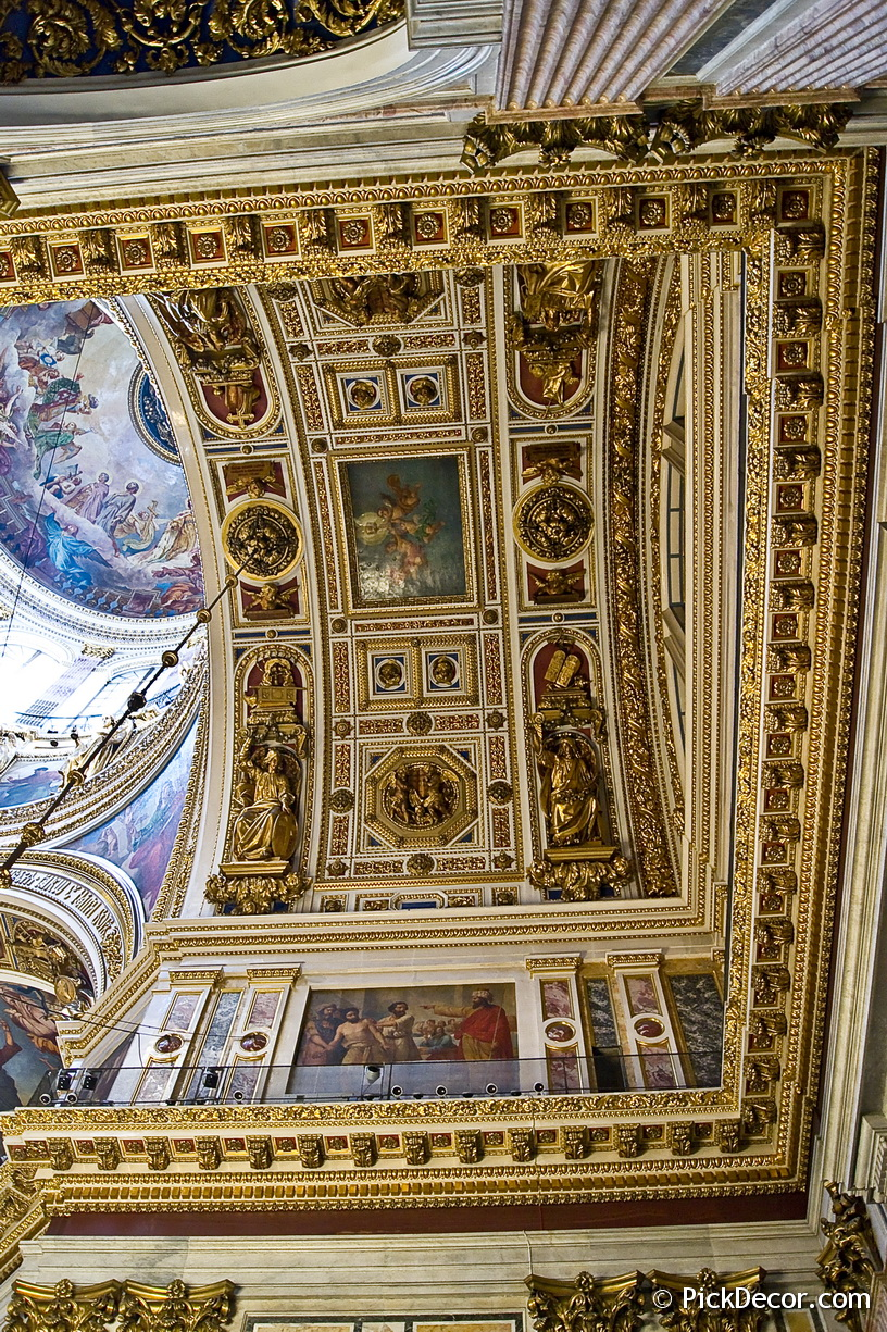 The Saint Isaac's Cathedral interiors – photo 9