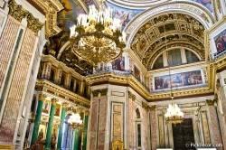 Потолки и декор Исаакиевского собора — фото 80
