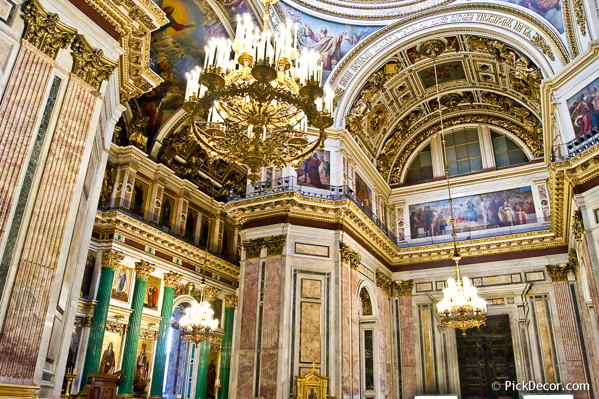 The Saint Isaac's Cathedral interiors – photo 21