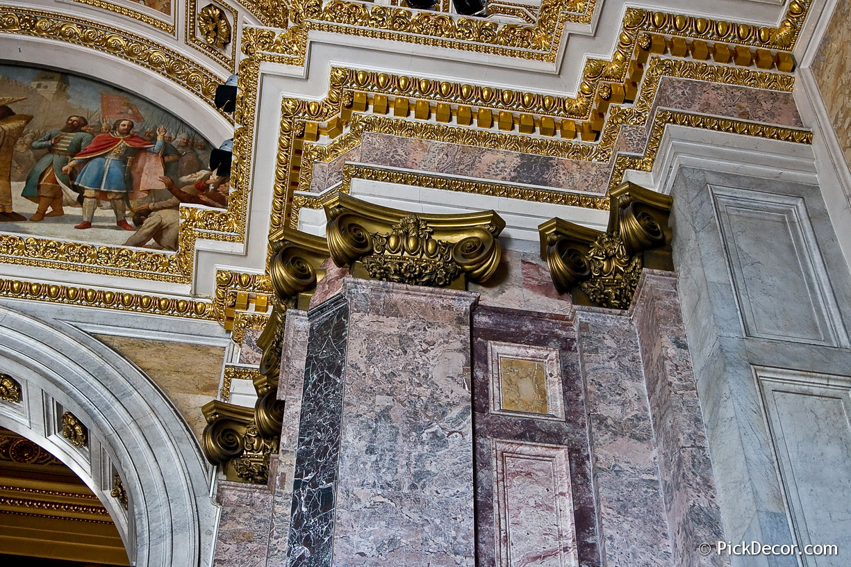 The Saint Isaac's Cathedral interiors – photo 75