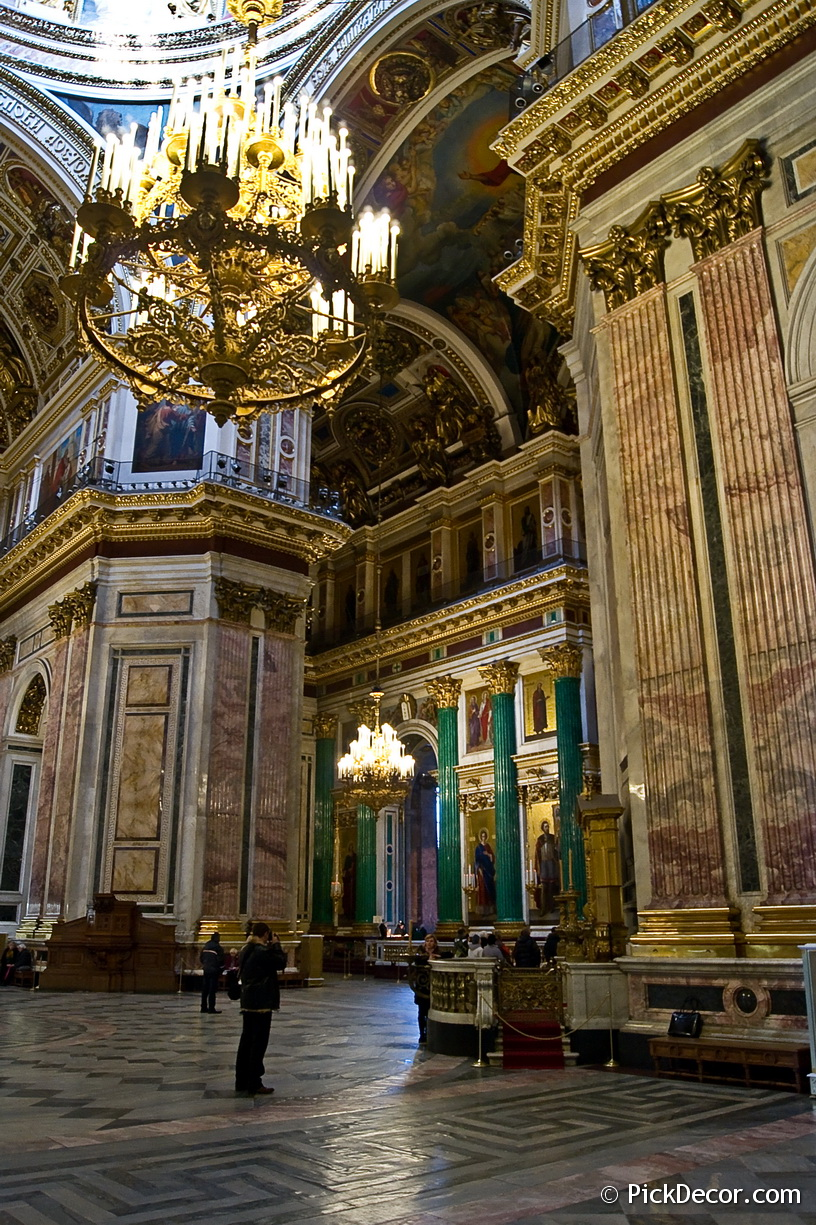 The Saint Isaac's Cathedral interiors – photo 24