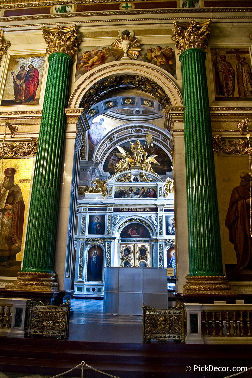 The Saint Isaac's Cathedral interiors – photo 25