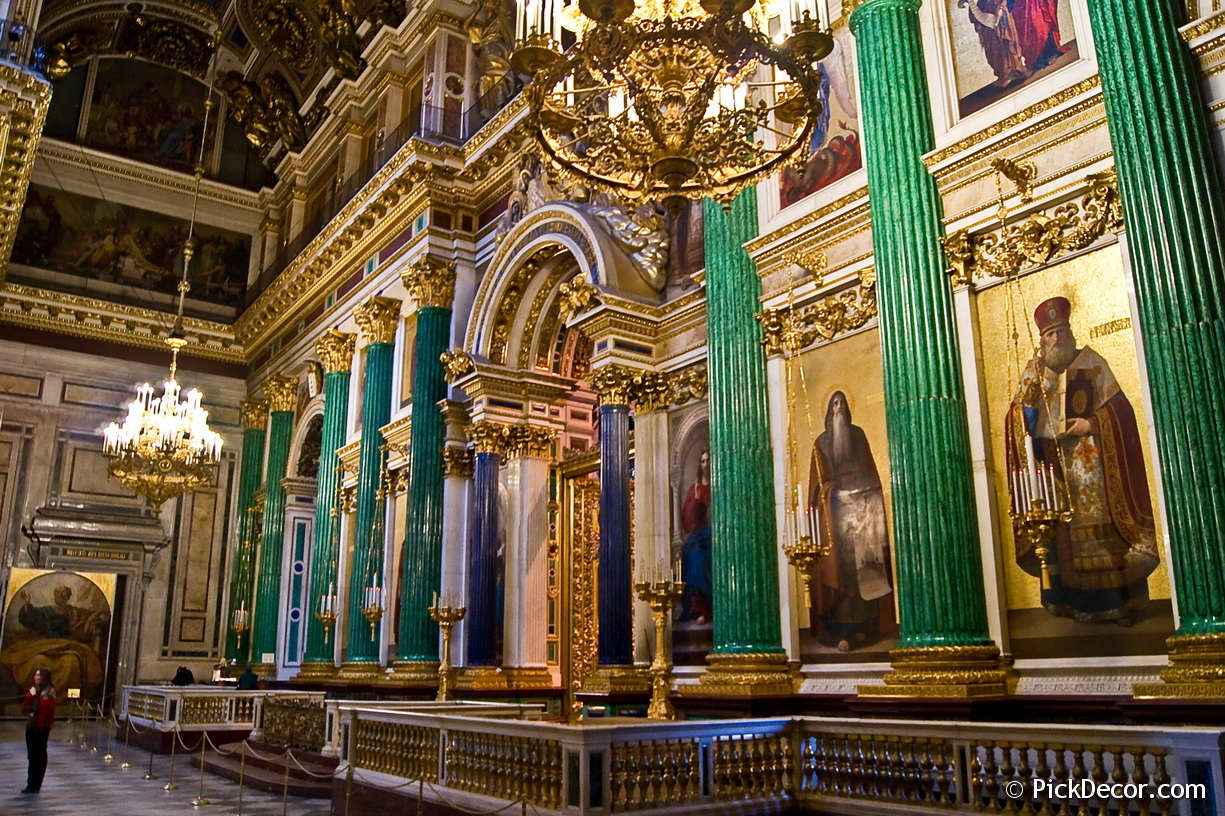 The Saint Isaac's Cathedral interiors – photo 52
