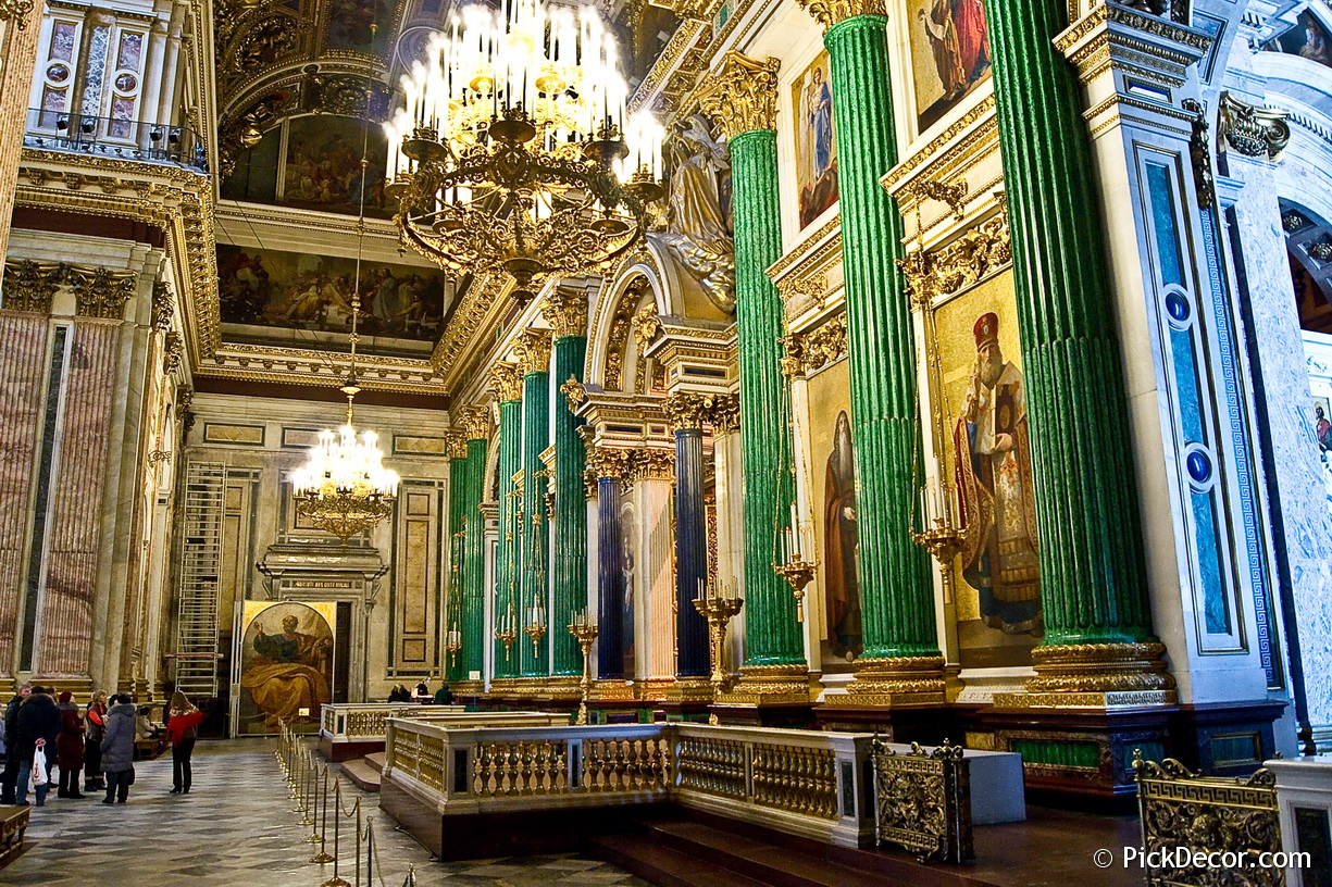 The Saint Isaac's Cathedral interiors – photo 13