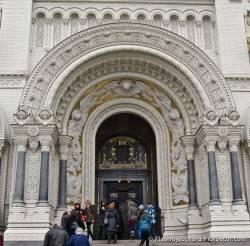 Потолки и декор Морского Никольского собора — фото 71
