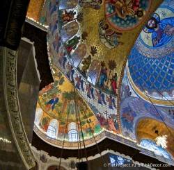 Потолки и декор Морского Никольского собора — фото 70