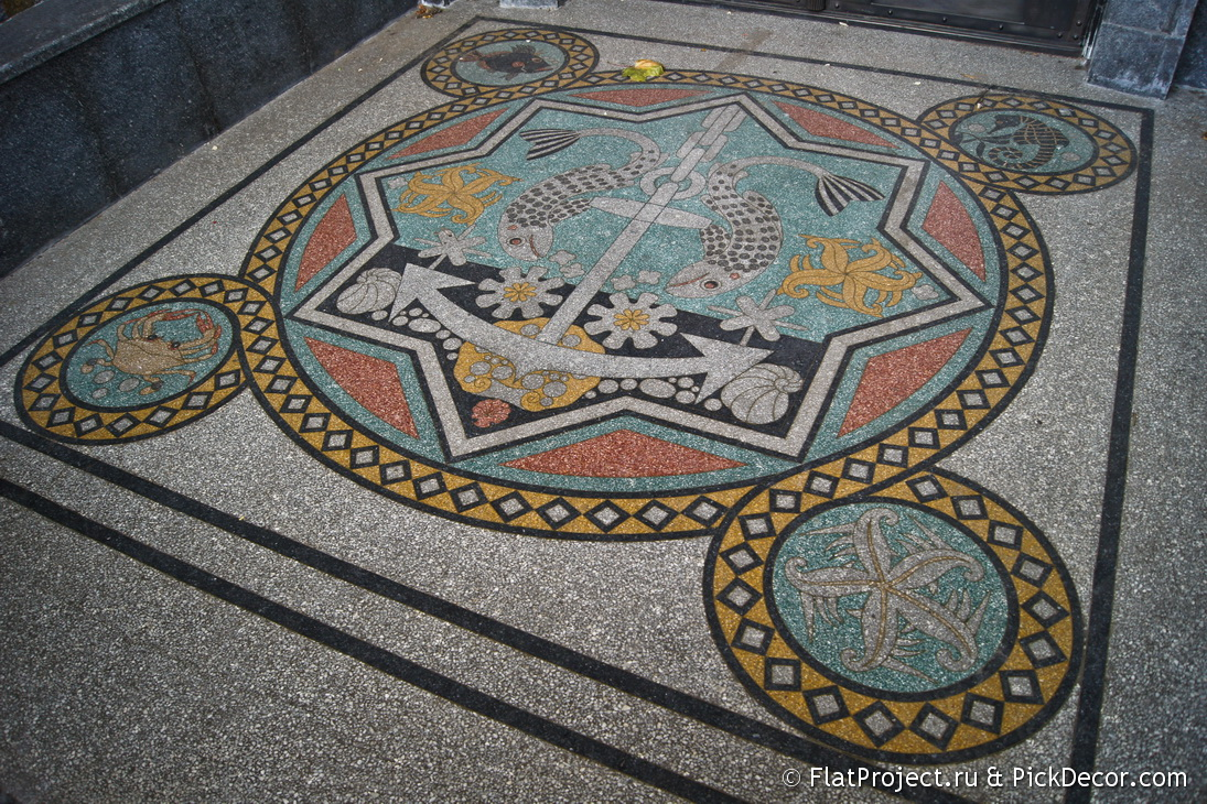 The Naval Cathedral mosaic floor – photo 11