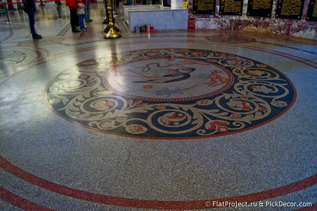 The Naval Cathedral mosaic floor – photo 18