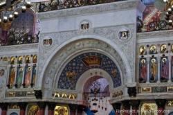 Потолки и декор Морского Никольского собора — фото 54