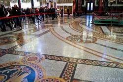 Мозаичные полы Морского Никольского собора — фото 1