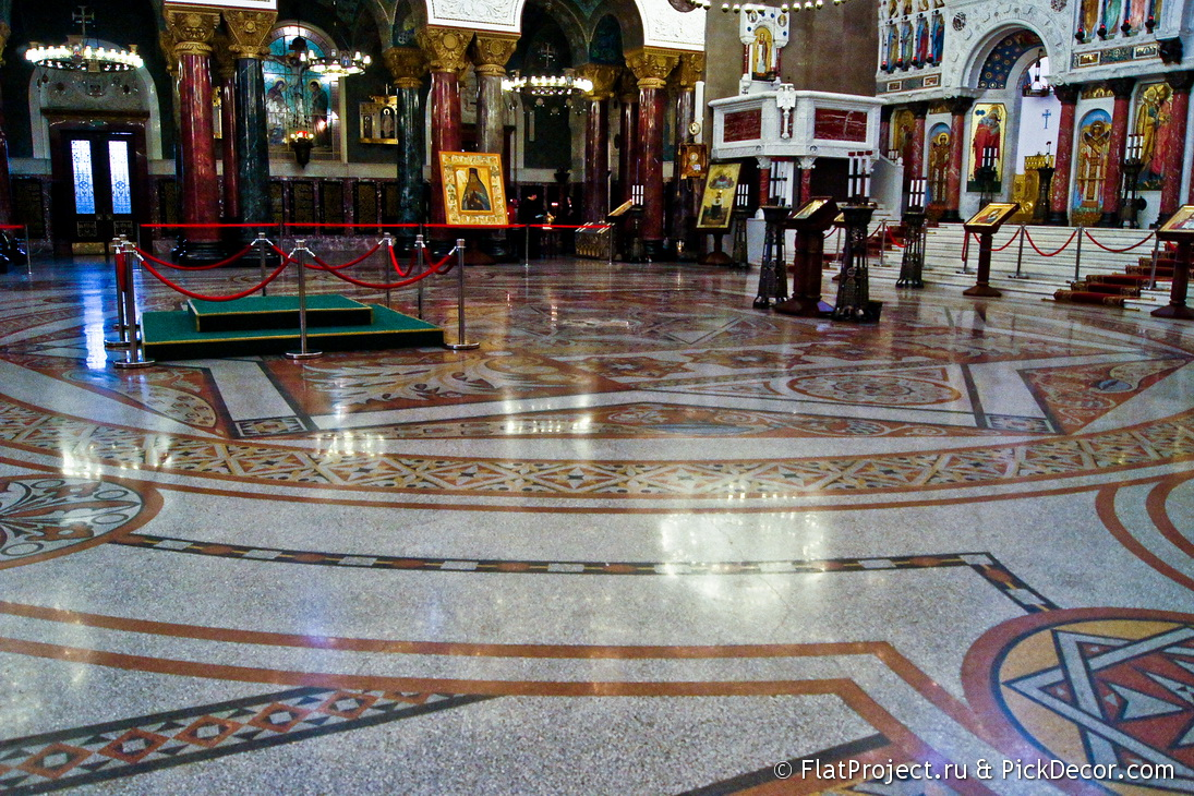 The Naval Cathedral mosaic floor – photo 23