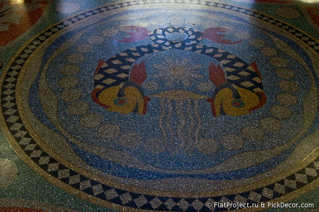 The Naval Cathedral mosaic floor – photo 12