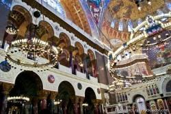Потолки и декор Морского Никольского собора — фото 24