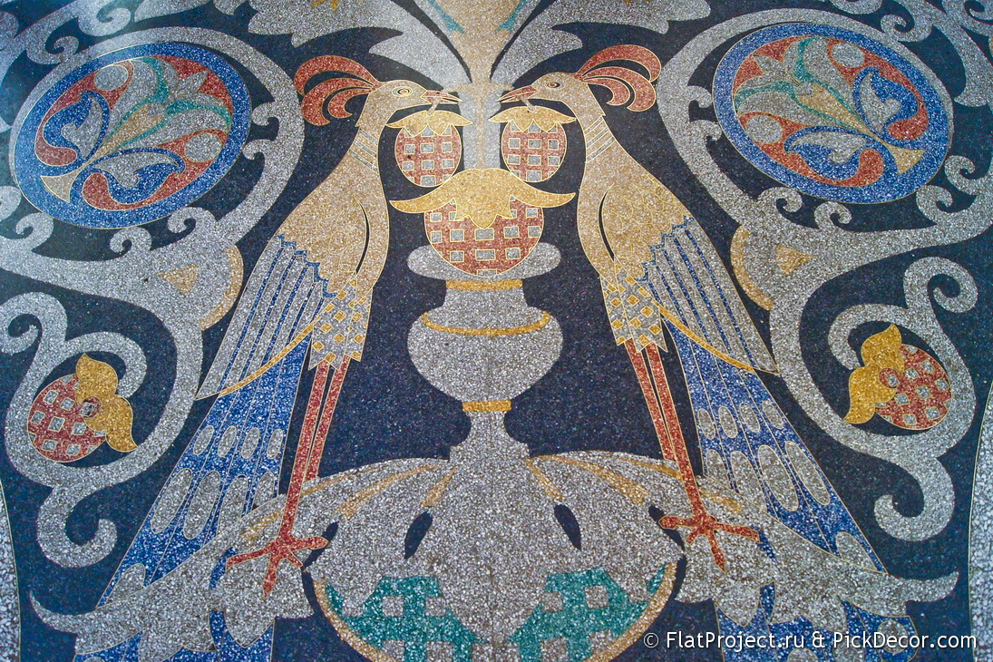 The Naval Cathedral mosaic floor – photo 1