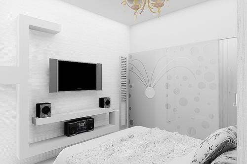 Отремонтированная комната