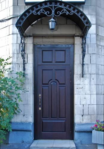 Внешний вид входной двери