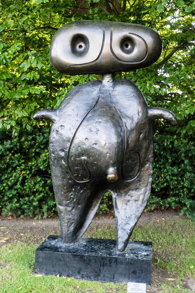 Жоан Миро — Характер, скульптура