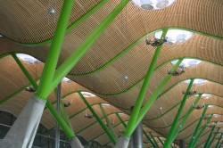 Потолок международного аэропорта Барахас в Мадриде — фото 2