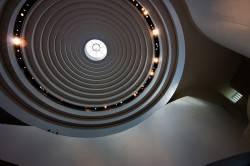 Потолок в Национальном музее американских индейцев