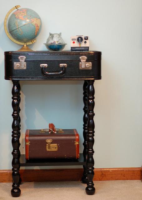 Поделки из старого чемодана своими руками