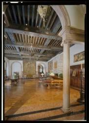 Деревянный потолок в Думбартон-Оксе